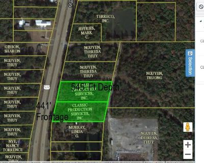 Vacant Land for Sale with Mansfield Road Frontage in Keithville
