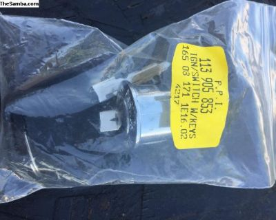 *NOS* new late type 3 ignition switch with key