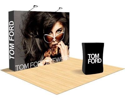 Trade Show Displays With Full Color Graphics Print