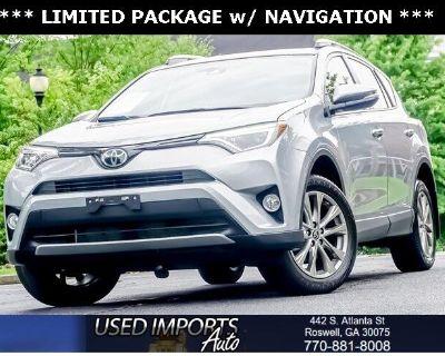 2018 Toyota RAV4 Limited AWD (Natl)