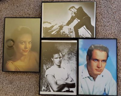 Movie Star Framed Pictures