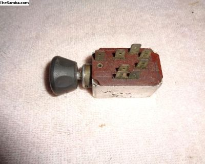OG Bug Type 3 Ghia 8 Pin Headlight Switch 71-77