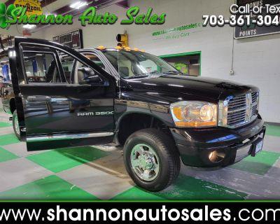 Used 2006 Dodge Ram 3500 Laramie Quad Cab Long Bed 4WD DRW