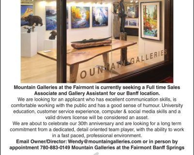 RARE EMPLOYMENT OPPORTUNITY ...