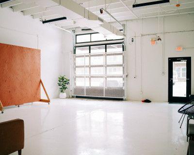 White + Bright Natural Light Studio