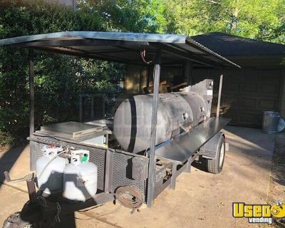 2014 Commercial BBQ Grill and Smoker Food Trailer