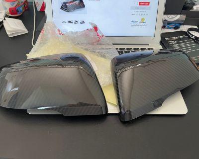 RexSpeed CF Mirror Covers