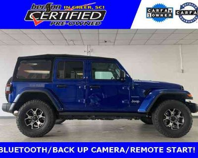 2019 Jeep Wrangler Unlimited Sahara SOFT TOP 4X4!
