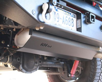 [NEW PRODUCT] JL Exhaust Muffler Skid Plate by Rock Hard 4x4