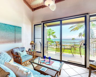 Waterfront Condo w/ Ocean View & Shared Pool - Watch the Sunset From Your Lanai - Kahana (Maui)