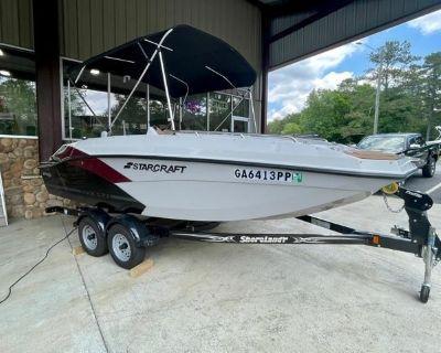 2020 Starcraft SVX 171 OB Deck Boat