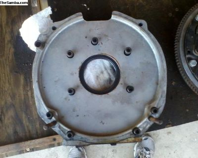 VW to Corvair adapter flywheel and clutch assembly