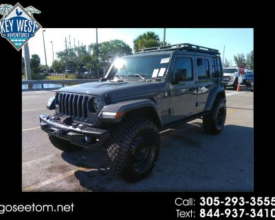 2018 Jeep Wrangler Unlimited Moab 4x4