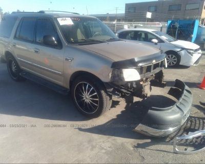 Salvage Tan 2000 Ford Expedition