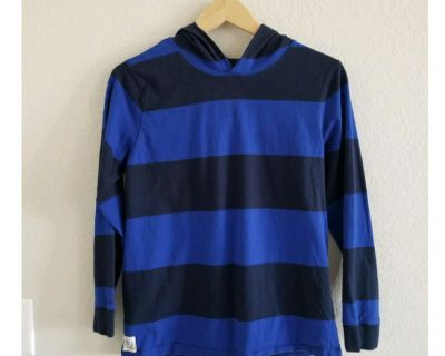 Boy's Vintage 14/16 style hooded rugby shirt