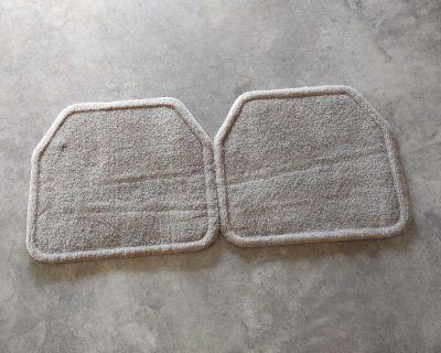 2 really nice backseat floor mats.