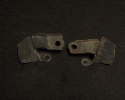 67 68 69 Firebird Rear Bumpstops Oem Used Brackets Hot Rod Rat Rod