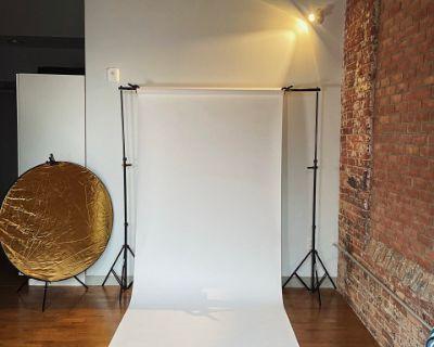 Rustic Industrial, Yet Modern Rental Studio, Hartford, CT