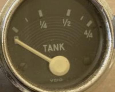 Early VDO accessory fuel gauge working condition