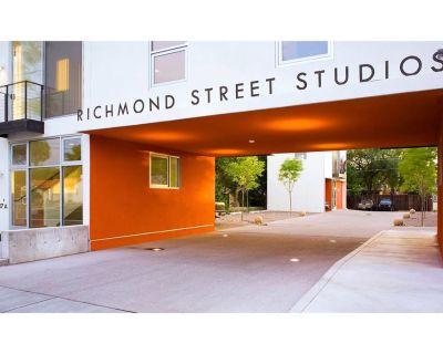 Award winning live/work Richmond Studios located in Nob Hill