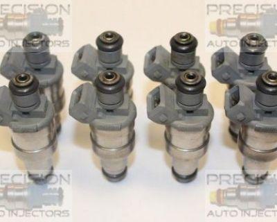 Set Of 8 Rebuilt 1999 Dodge Ram 3500 Van 5.9l Ohv Fuel Injectors