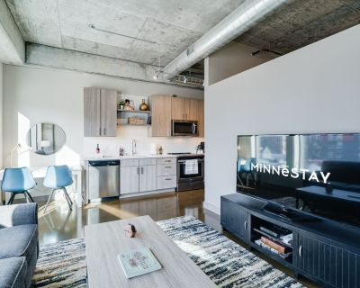 MINNESTAY* Sable 24 - One Bedroom Walk to Target Field Business Travelers - Warehouse District