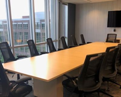 Private Meeting Room for 14 at Peachtree Offices at Alpharetta