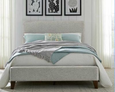 NEW Upholstered Queen Bed
