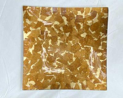Decorative Glass Serving Platter