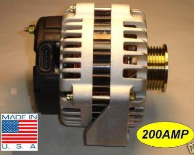 Chevy Trail Blazer New Alternator 03 04 5.3l High Amp