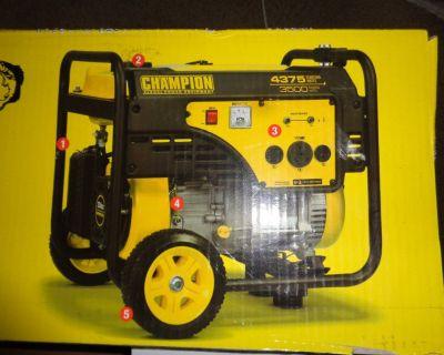 2 Generators for sale