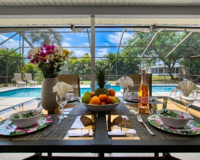 Holiday home with large heated pool - south exposure - Caloosahatchee
