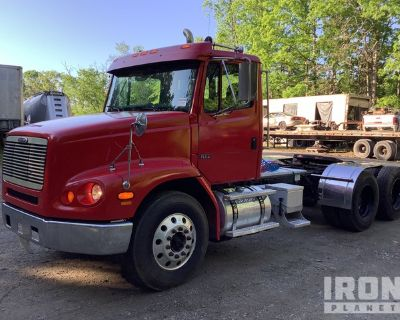 2001 Freightliner FL112 6x4 T/A Day Cab Truck Tractor