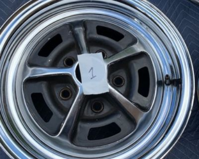 Wheels Tires & Hubcaps - Oldsmobile: 442 wheels 1966-original
