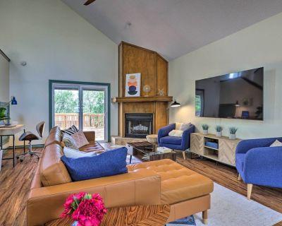 New! Chic Texas Home w/ Decks: Walk to Canyon Lake - Canyon Lake
