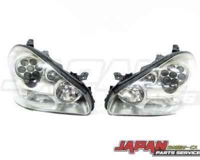 01-06 Nissan Cima Gloria President Infiniti Q45 F50 Oem Headlights Gatling Gun P