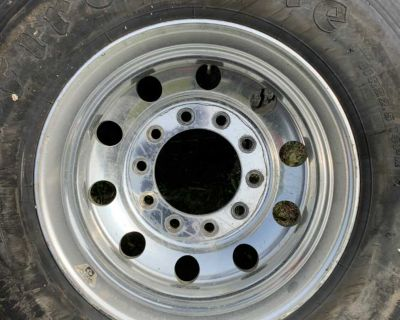 Truck wheels with firestone tires 3200$