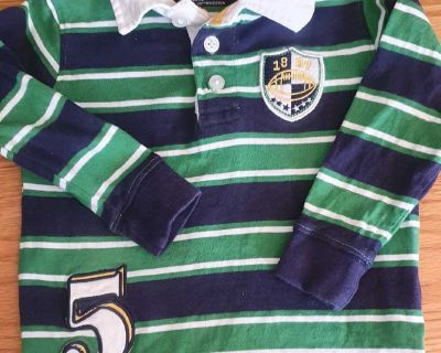 Baby Boots 18 month rugby style shirt