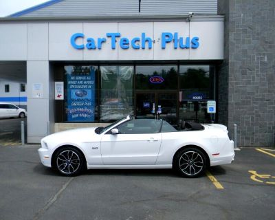 Used 2014 Ford Mustang GT CONVERTIBLE 5.0L V8 WITH 6-SPEED AUTOMATIC