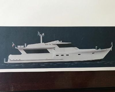 1990 Custom Raised Pilot Motor Yacht