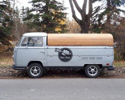 1970 VW Single Cab with Custom Cedar Topper