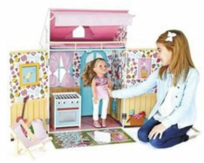 Target 18 Doll House