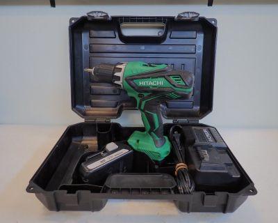 Hitachi 18V Cordless Drill