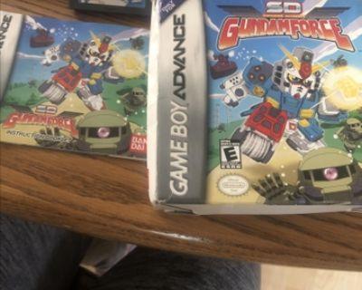 SD Gundam Force (Nintendo Game Boy Advance, 2004)
