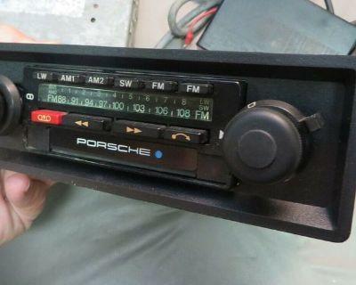 Blaupunkt CR Porsche OEM Bamberg USA Radio for 911 & 930 - 1976-1980