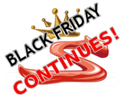 SupraStore BLACK FRIDAY and CYBER MONDAY Sales!!