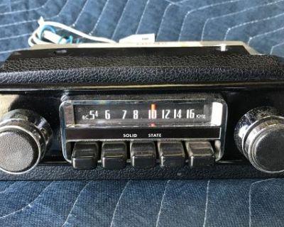 Type-3 68-69' Under Dash A.m. Radio 12v