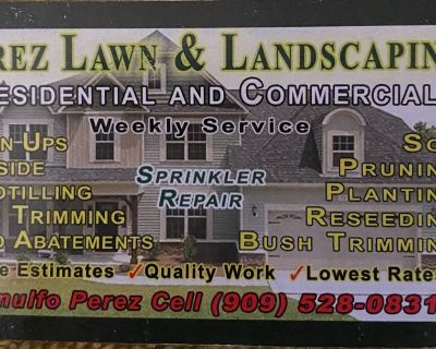 Perez Lawn & Landscaping