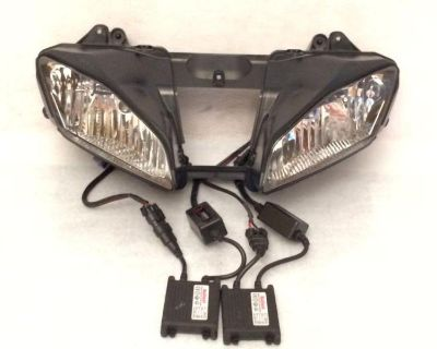 08 09 10 11 12 Yamaha R6 Oem Headlight Assembly With Hid Conversion Kit!! Yzf-r6