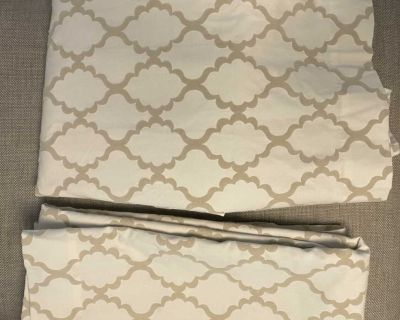 Pottery Barn blackout curtains - set of 2